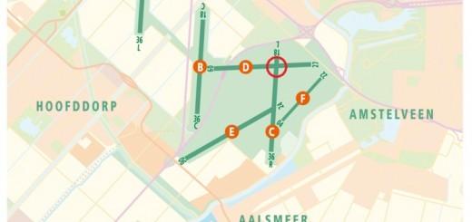 Banenstelsel Schiphol
