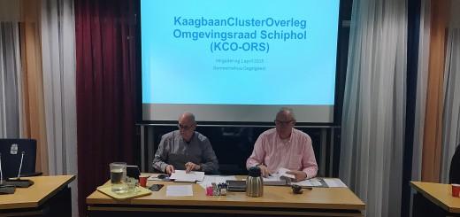 Chris Muller en Ger van der Pluijm leiden het KCO in Oegstgeest